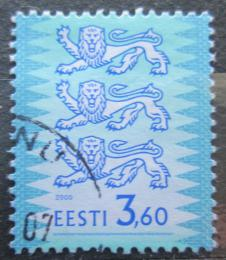 Poštovní známka Estonsko 2000 Státní znak Mi# 356