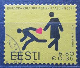 Poštovní známka Estonsko 2010 Tallinn, mìsto kultury Mi# 672