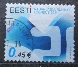 Poštovní známka Estonsko 2012 Sèítání lidu Mi# 720