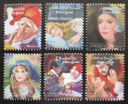 Poštovní známky Haiti 1998 Pohádky bratøí Grimmù TOP SET Mi# 1569-74 Kat 24€