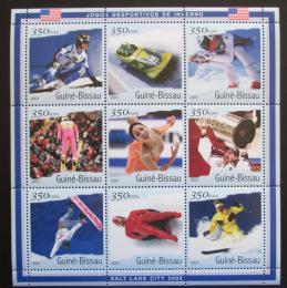 Poštovní známky Guinea-Bissau 2001 ZOH Salt Lake City Mi# 1402-10 Kat 13€