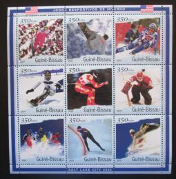 Poštovní známky Guinea-Bissau 2001 ZOH Salt Lake City Mi# 1411-19 Kat 13€