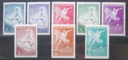 Poštovní známky Paraguay 1962 Tenis Mi# 1001-08 Kat 9.50€