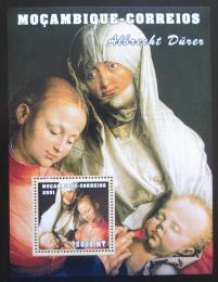 Poštovní známka Mosambik 2001 Umìní, Albrecht Dürer Mi# Block 103