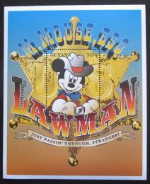 Poštovní známka Guyana 1996 Disney, Mickey Mi# Block 512
