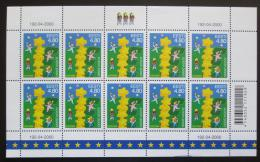Poštovní známky Estonsko 2000 Evropa CEPT Mi# 371 Bogen Kat 20€