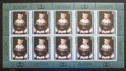 Poštovní známky Litva 1996 Evropa CEPT Mi# 608 Bogen