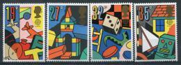 Poštovní známky Velká Británie 1989 Evropa CEPT, dìtské hry Mi# 1202-05 Kat 7€