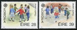 Poštovní známky Irsko 1989 Evropa CEPT, dìtské hry Mi# 679-80