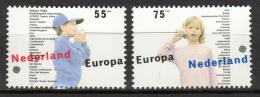 Poštovní známky Nizozemí 1989 Evropa CEPT, dìtské hry Mi# 1364-65