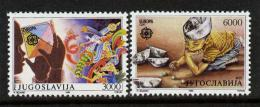 Poštovní známky Jugoslávie 1989 Evropa CEPT, dìtské hry Mi# 2340-41