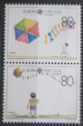 Poštovní známky Madeira 1989 Evropa CEPT, dìtské hry Mi# 125 II- 126 Kat 5€