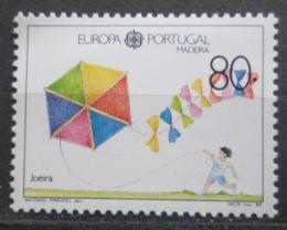 Poštovní známka Madeira 1989 Evropa CEPT, dìtské hry Mi# 125 I Kat 5€
