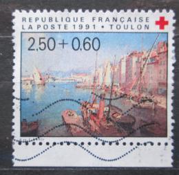Poštovní známka Francie 1991 Umìní, Francois Nardi, Èervený køíž Mi# 2867