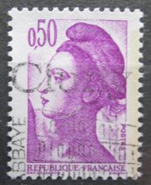 Poštovní známka Francie 1982 Svoboda, Eugene Delacroix Mi# 2305
