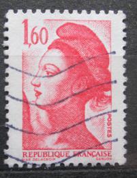 Poštovní známka Francie 1982 Svoboda, Eugene Delacroix Mi# 2308