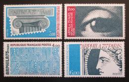 Poštovní známky Francie 1975 Výstava ARPHILA Mi# 1923-26 Kat 7.50€