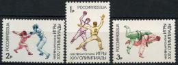 Poštovní známky Rusko 1992 LOH Barcelona Mi# 245-47