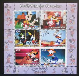 Poštovní známky Benin 2003 Disney postavièky Mi# N/N