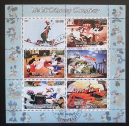 Poštovní známky Mauretánie 2003 Disney postavièky Mi# N/N