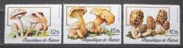 Poštovní známky Guinea 1977 Houby Mi# 764-66 Kat 17€
