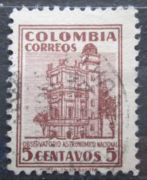 Poštovní známka Kolumbie 1946 Observatoø v Bogotì Mi# 491