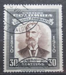Poštovní známka Kolumbie 1953 Manuel Ponce de Leon Mi# 664
