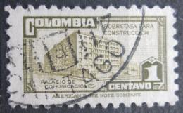 Poštovní známka Kolumbie 1945 Budova pošty v Bogotì, daòová Mi# 29 a