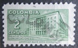 Poštovní známka Kolumbie 1950 Budova pošty v Bogotì, daòová Mi# 43