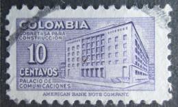 Poštovní známka Kolumbie 1948 Budova pošty v Bogotì, daòová Mi# 46