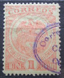 Poštovní známka Kolumbie 1898 Státní znak Mi# 122 - zvětšit obrázek