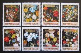 Poštovní známky Manáma 1971 Umìní, Jan Bruegel, vánoce Mi# 361-68