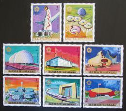 Poštovní známky Adžmán 1970 Výstava EXPO Osaka Mi# 577-84