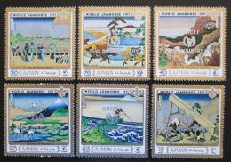 Poštovní známky Adžmán 1971 Setkání skautù, UNICEF Mi# 940-45