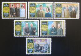Poštovní známky Manáma 1971 Charles de Gaulle Mi# 633-38