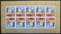 Poštovní známky Lotyšsko 1997 Evropa CEPT Mi# 453 Bogen Kat 20€