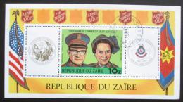 Poštovní známka Kongo Dem., Zair 1980 Armáda spásy Mi# Block 34 Kat 8.50€