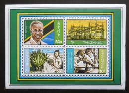 Poštovní známky Tanzánie 1982 Nezávislost, 20. výroèí Mi# Block 26