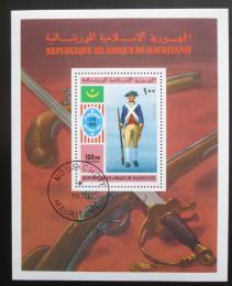 Poštovní známka Mauritánie 1976 Americká revoluce Mi# Block 14