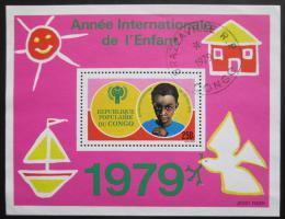 Poštovní známka Kongo 1979 Mezinárodní rok dìtí Mi# Block 21