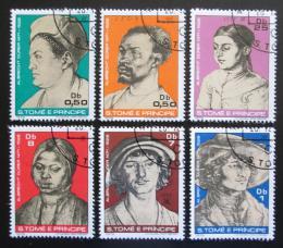 Poštovní známky Svatý Tomáš 1979 Umìní, Albrecht Dürer Mi# 585-90 Kat 15€