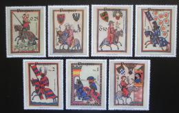 Poštovní známky Paraguay 1984 Minnesängři Mi# 3738-44 Kat 8€ - zvětšit obrázek