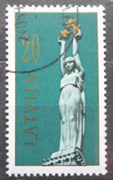 Poštovní známka Lotyšsko 1991 Památník svobody Mi# 319