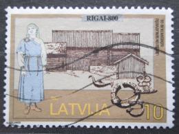 Poštovní známka Lotyšsko 1997 Riga, 800. výroèí Mi# 467