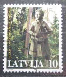 Poštovní známka Lotyšsko 1998 Postava z muzea Mi# 475