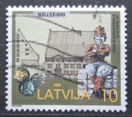 Poštovní známka Lotyšsko 1998 Riga, 800. výroèí Mi# 481