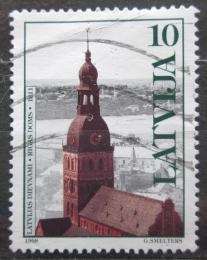 Poštovní známka Lotyšsko 1998 Kostel, Riga Mi# 488