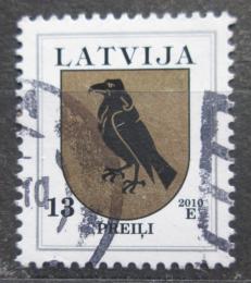 Poštovní známka Lotyšsko 2010 Znak Preili Mi# 422 C X