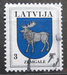 Poštovní známka Lotyšsko 2005 Znak Zemgale Mi# 372 D VIII