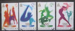 Poštovní známky Hongkong 1996 LOH Atlanta Mi# 762-65